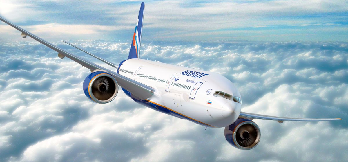 Aeroflot – number<br>one airline in Russia